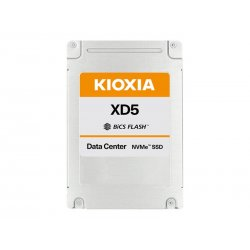 """KIOXIA XD5 Series KXD51RUE3T84 - Unidade de estado sólido - 3840 GB - interna - 2.5"""" - PCI Express 3.0 x4 (NVMe)"""