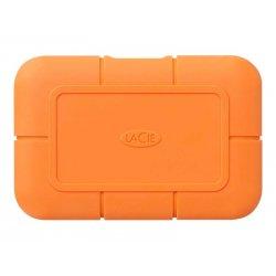 LaCie Rugged SSD STHR500800 - Unidade de estado sólido - encriptado - 500 GB - externa (portátil) - USB 3.1 Gen 2 / Thunderbolt