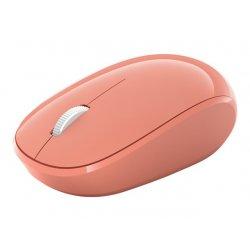 Microsoft Bluetooth Mouse - Rato - óptico - 3 botões - sem fios - Bluetooth 5.0 LE - pêssego