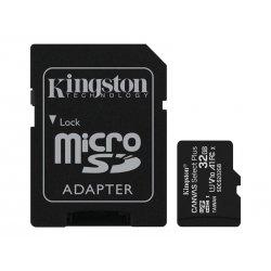 Kingston Canvas Select Plus - Cartão de memória flash (adaptador microSDHC a SD Incluído) - 32 GB - A1 / Video Class V10 / UHS