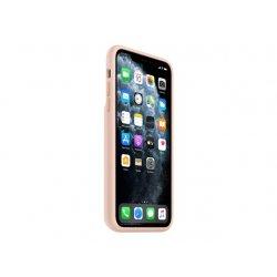 Apple Smart - Caixa de bateria tampa posterior para telemóvel - silicone, elastómero - areia rosa - para iPhone 11 Pro Max