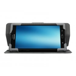 "Targus Safe Fit Universal 360° Rotating - Capa flip cover para tablet - poliuretano - preto - 7"" - 8.5"""