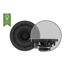 "VISION Professional Pair 6.5"" Ceiling Speakers - 35 Watt power handling - 2-way - magnetic grille - polypropylene woofer and 0."