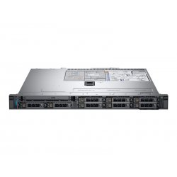 Dell EMC PowerEdge R340 - Servidor - montável em bastidor - 1U - 1 via - 1 x Xeon E-2224 / 3.4 GHz - RAM 16 GB - SAS - hot-swap