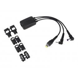Targus 3-Way DC Charging Hydra - Adaptador de alimentação - 3 pin power - preto - Europa - para Targus Universal USB 3.0, Unive