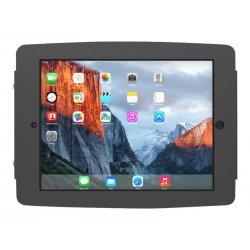 Compulocks Space iPad 12.9 (3rd & 4th Generation) Enclosure Kiosk - Cobertura - para tablet - bloqueável - alumínio - preto - t