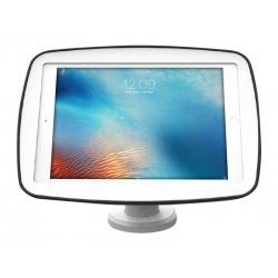 "Compulocks Rise VESA Monitor Counter Top Kiosk Stand 8"" Height White - Plataforma - para tablet - branco - interface de montage"