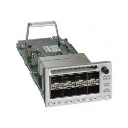 Cisco - Módulo de expansão - 10 Gigabit SFP+ / SFP (mini-GBIC) x 8 - para Catalyst 3850-12X48U-E, 3850-12X48U-S, 3850-24XS-E, 3