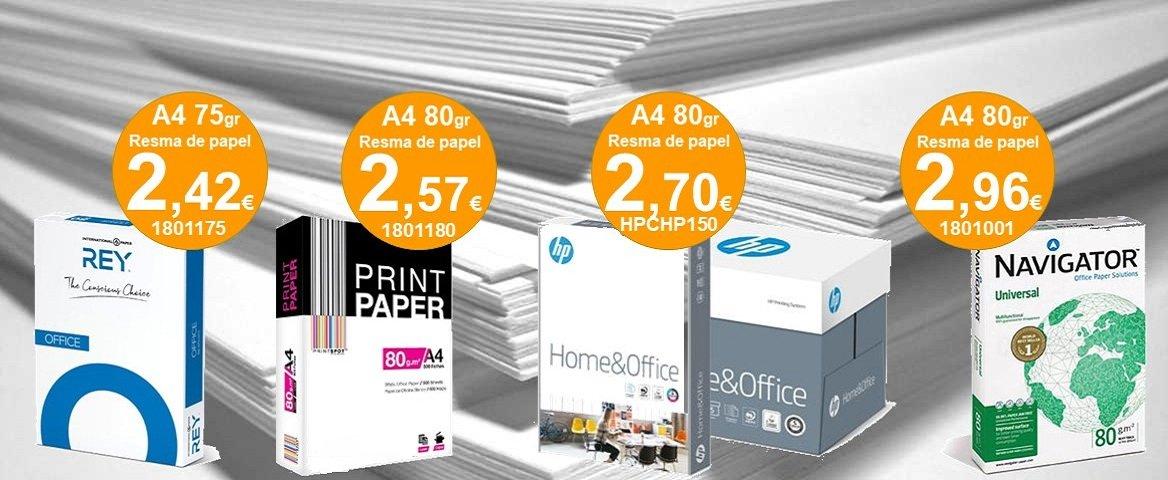 Papel Fotocopia A4 80gr