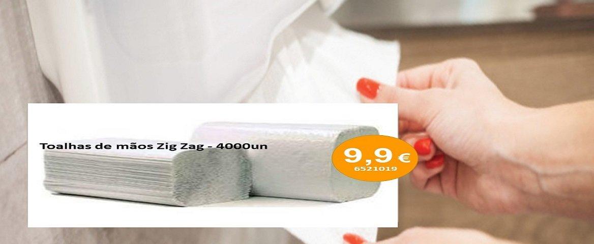 Toalhas de mãos Zig Zag