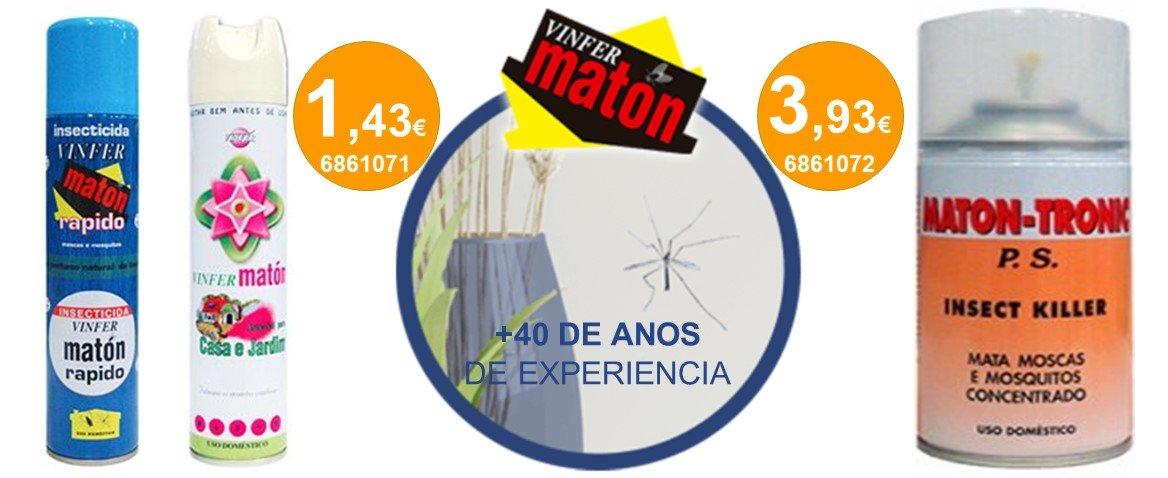 VINFER MATON Inseticida 40anos