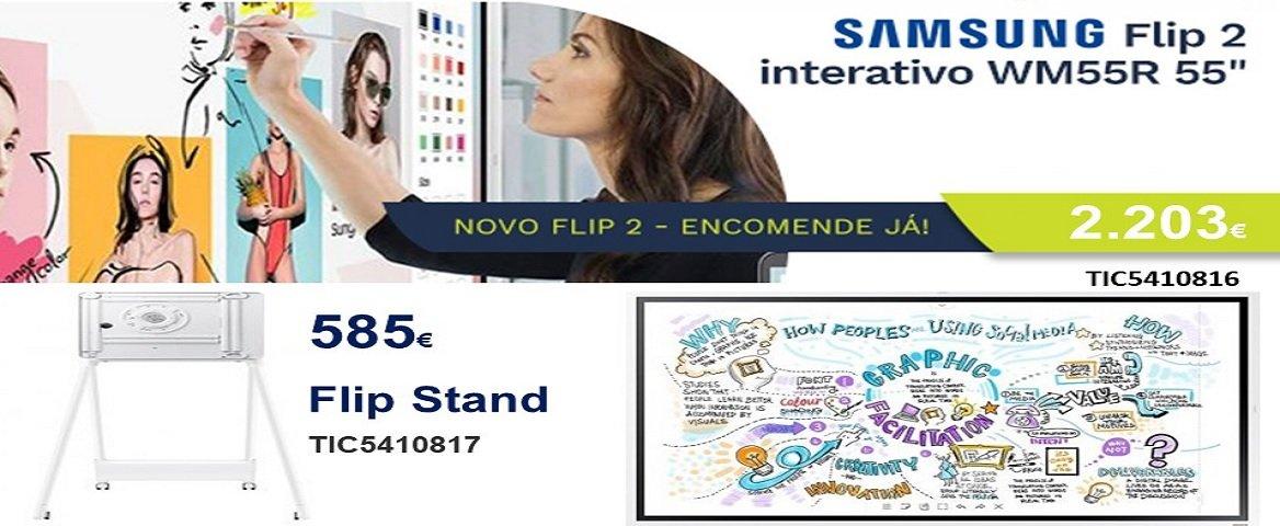 FLIP Samsung soluções colaborativas