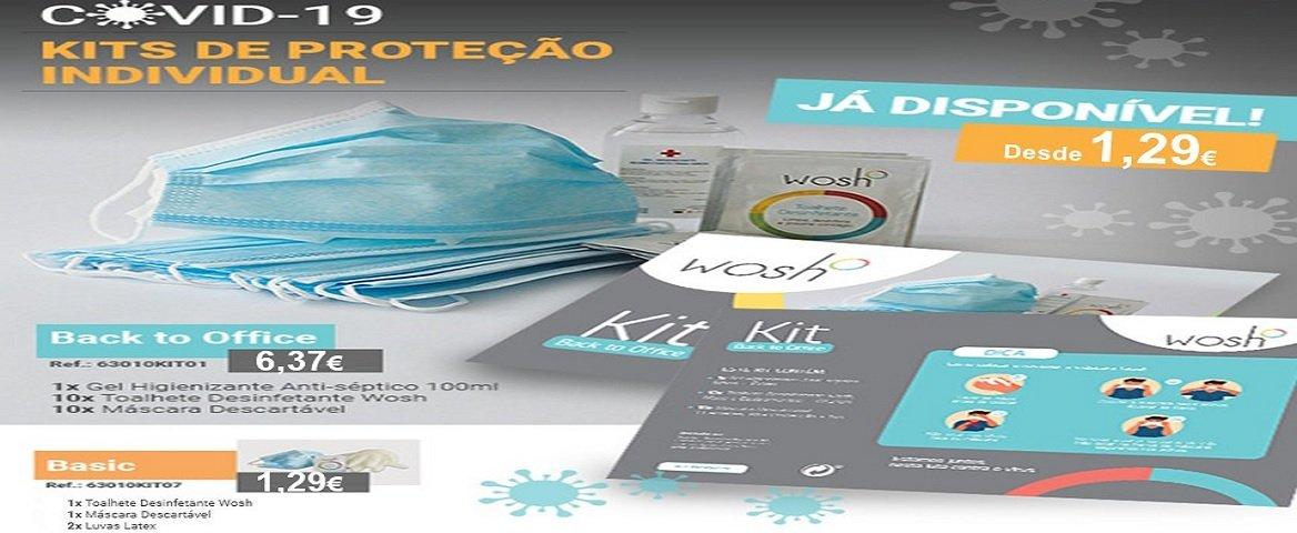 COVID 19 - Kits de proteção individual