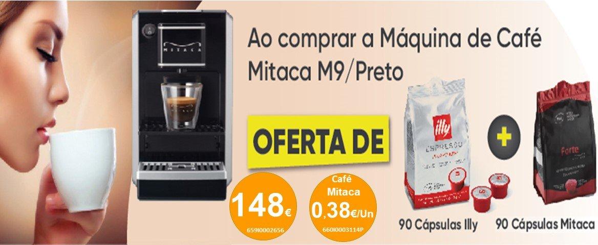 Máquina de café Mitaca oferecemos 180 cápsulas de café