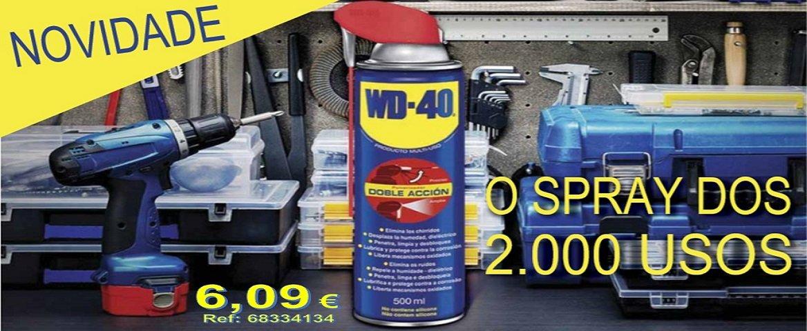 WD-40 o Spray dos 2000 usos